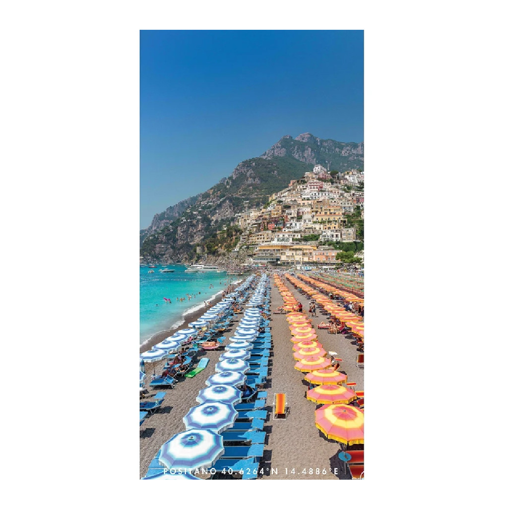 Positano Summer - Ultra Absorbant, Quick Drying, Sand Free Towel