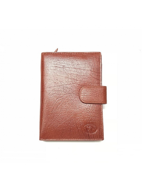 Antique Kangaroo Leather 15 Card+ Womens Wallet
