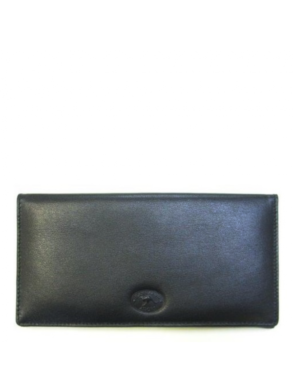 Napa Kangaroo Leather 9 Card+ Womens Long Wallet