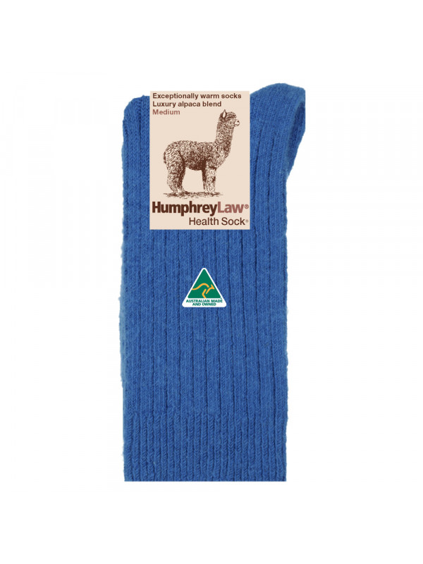 Alpaca/Wool Blend Ribbed Health Sock®