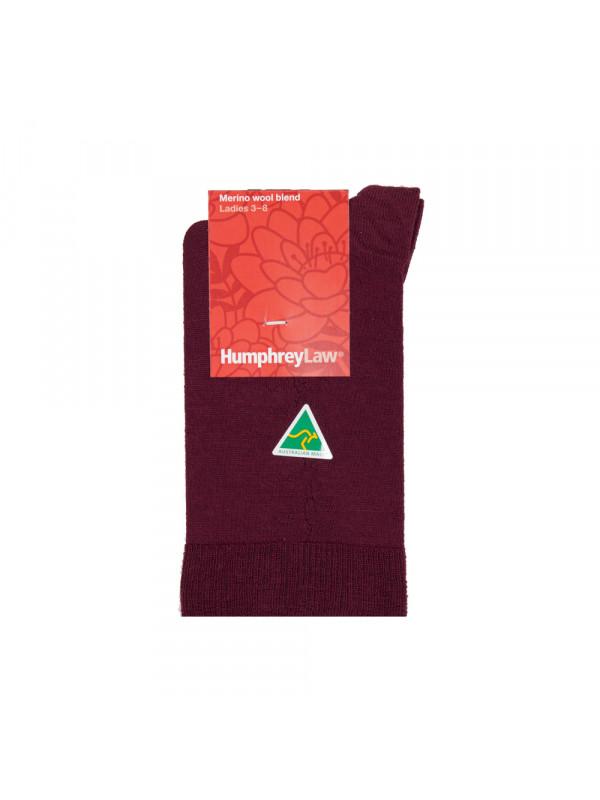 70% Fine Merino Wool Elastic Top Women's' Sock