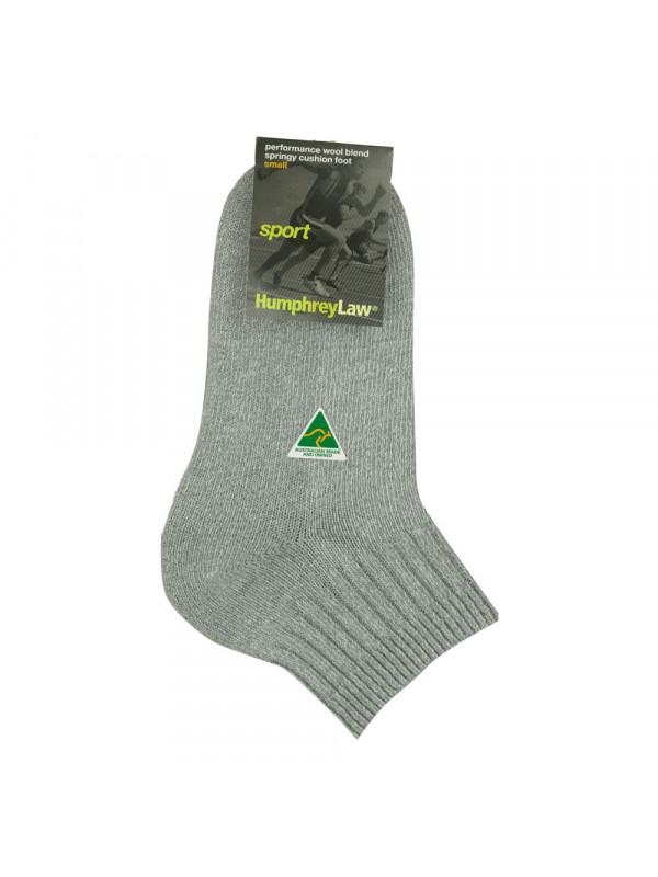 Wool/CoolMax® Cushion Sole Sport Sock