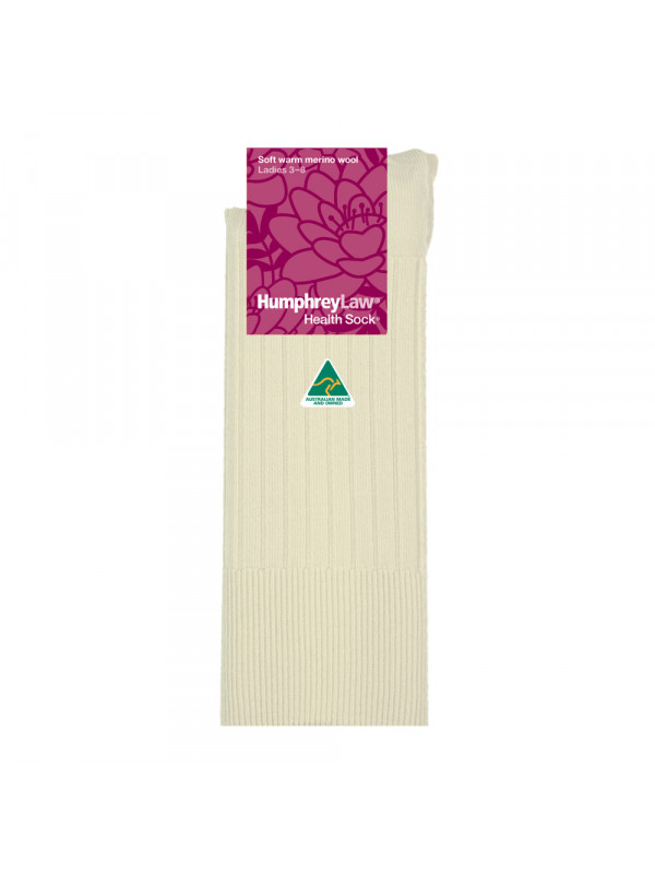 95% Fine Merino Wool Women's Health Sock®