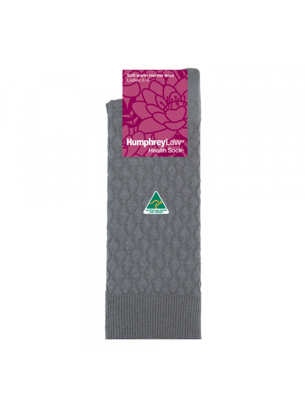 95% Fine Merino Wool Quilted Women's' Health Sock®