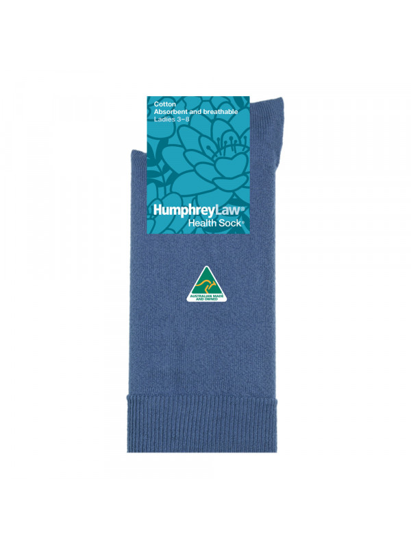 95% Mercerised Cotton Women's' Health Sock®