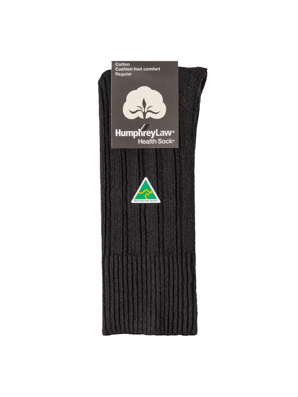 95% Cotton Cushion Sole Health Sock®