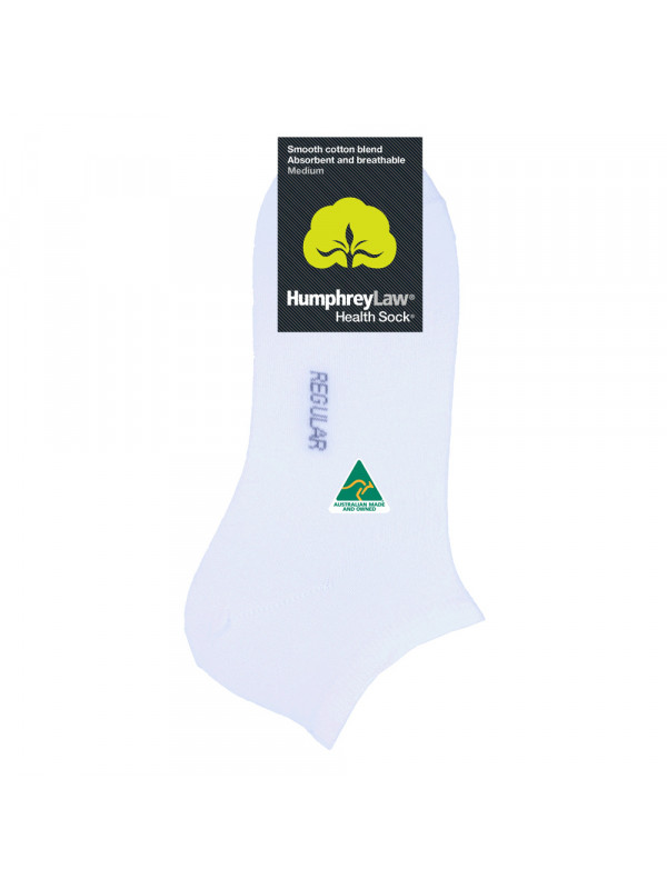 80% Mercerised Cotton Unisex Ankle Health Sock®