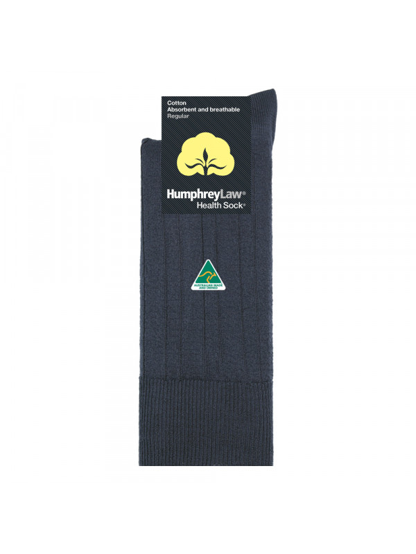 95% Mercerised Cotton Men's Health Sock®