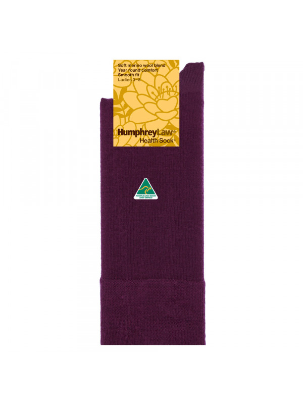 60% Fine Merino Wool Women's Health Sock®