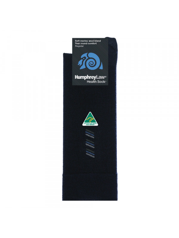 60% Fine Merino Wool Patterned Men's Health Sock® - Triple 3