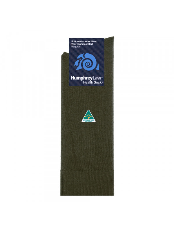 60% Fine Merino Wool Men's Health Sock®