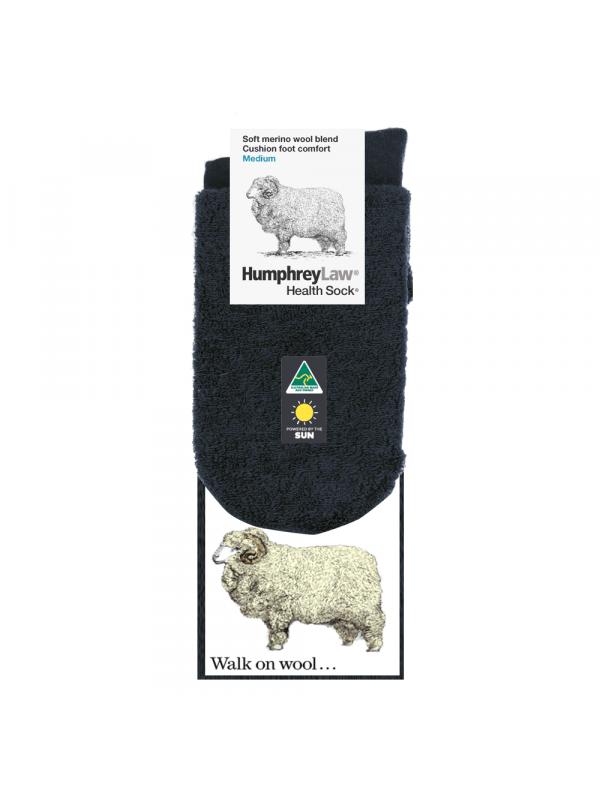 70% Fine Merino Wool Cushion Sole Health Sock® - Mens