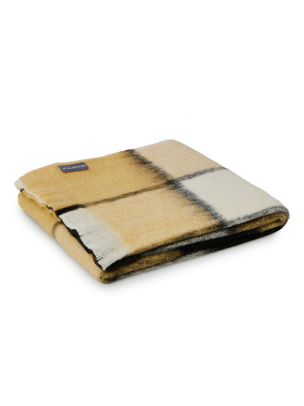 Butterscotch - Alpaca Throw