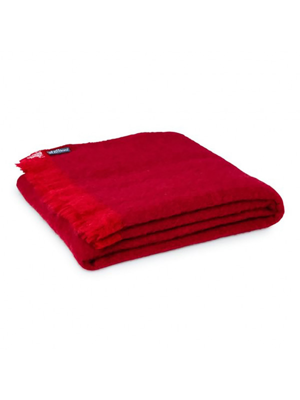 Cherry - Alpaca Throw