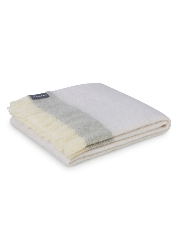 Mineral - Mohair Throw