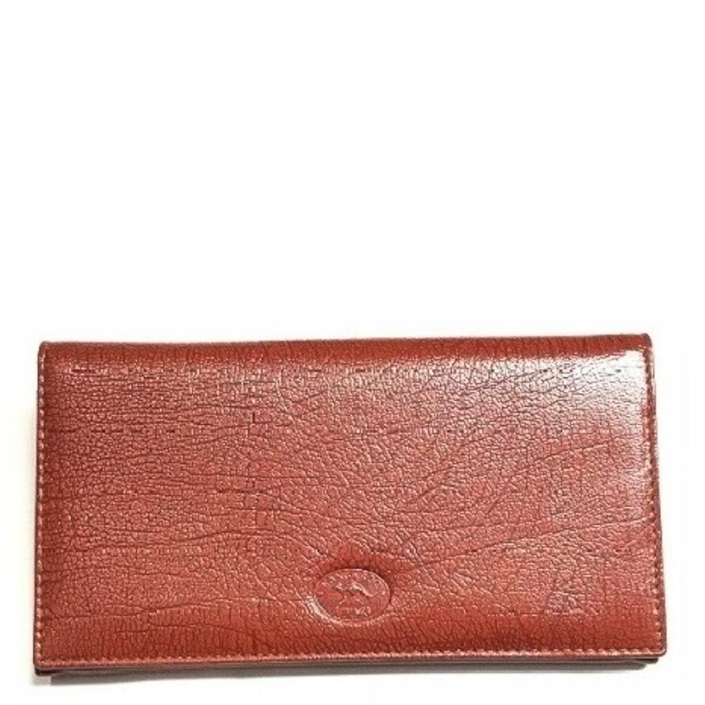 Antique Kangaroo Leather 9 Card+ Womens Long Wallet