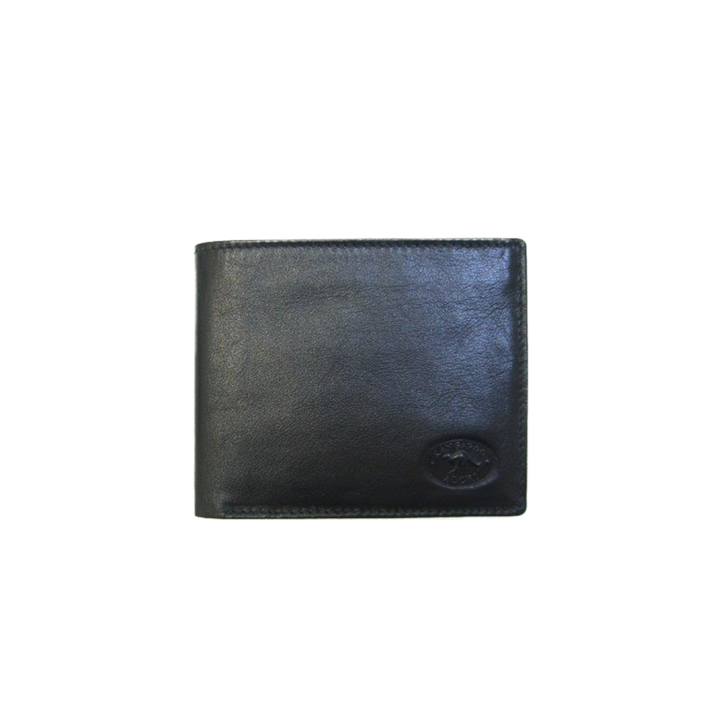 Napa Kangaroo Leather 10 Card+ Mens Wallet