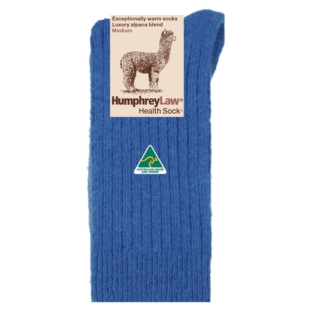 Alpaca/Wool Blend Ribbed Health Sock®
