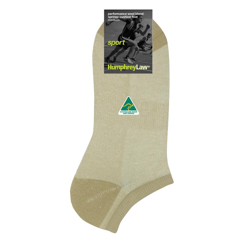 67% Wool Terry Cushion Sole Sport Sock