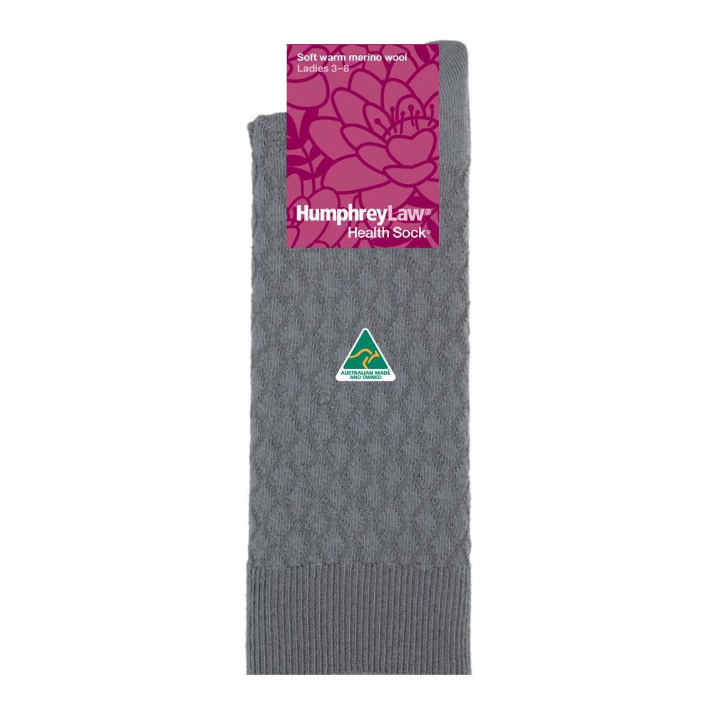 95% Fine Merino Wool Quilted Women's' Health Sock®