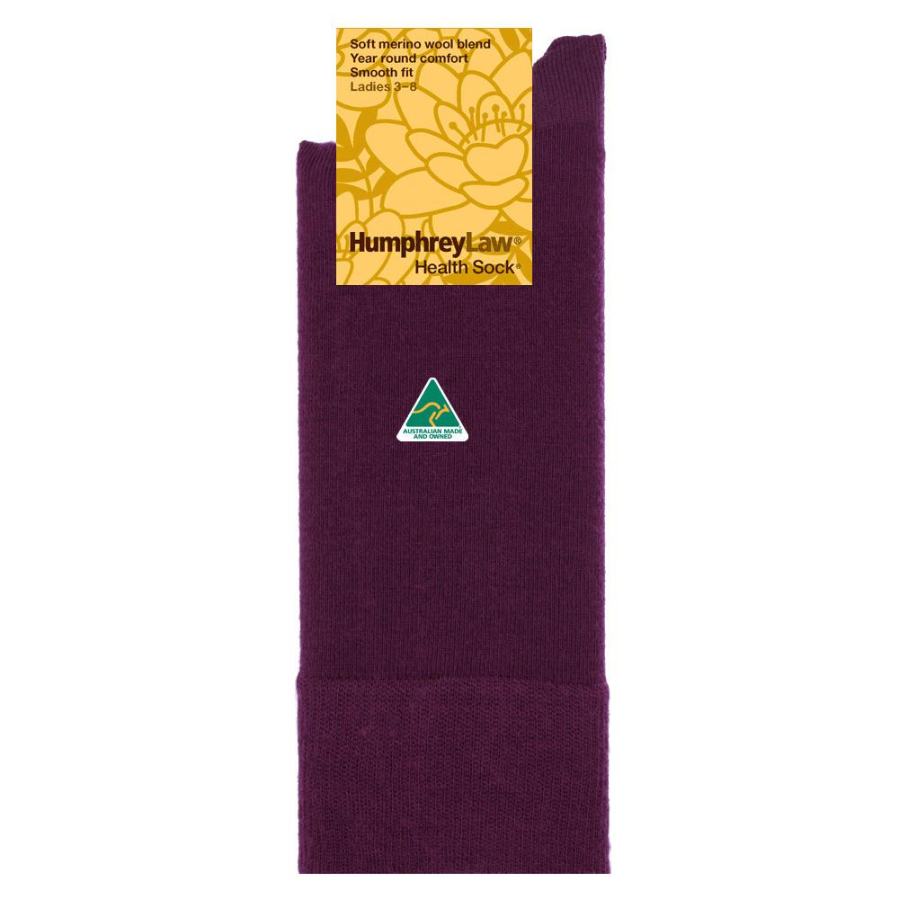 60% Fine Merino Wool Women's Health Sock®